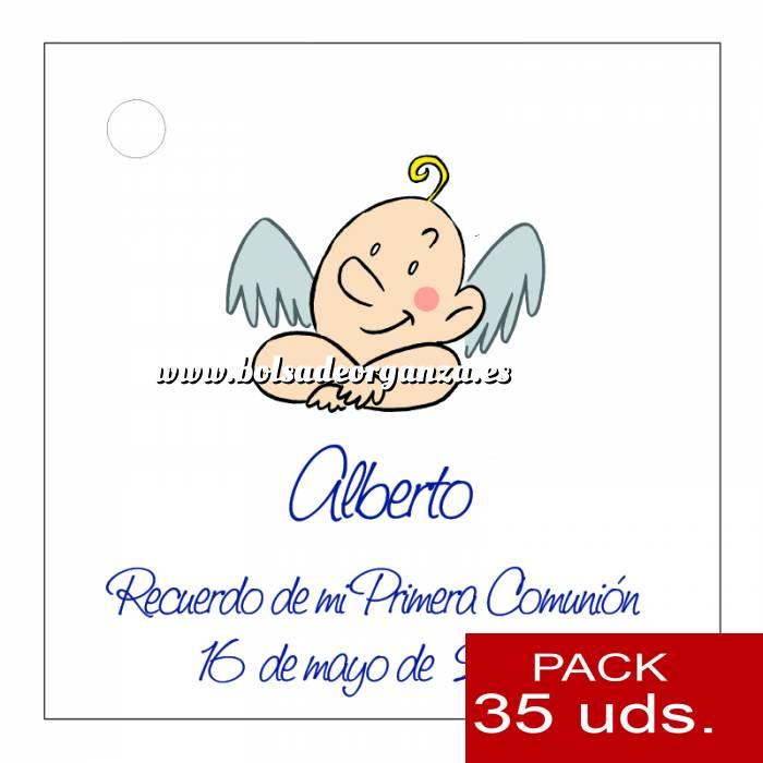 Imagen Etiquetas personalizadas Etiqueta Modelo D20 (Paquete de 35 etiquetas 4x4)