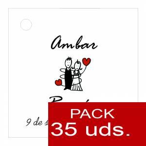 Etiquetas personalizadas - Etiqueta Modelo A05 (Paquete de 35 etiquetas 4x4)
