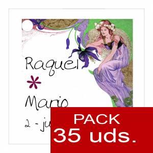 Etiquetas personalizadas - Etiqueta Modelo A10 (Paquete de 35 etiquetas 4x4)