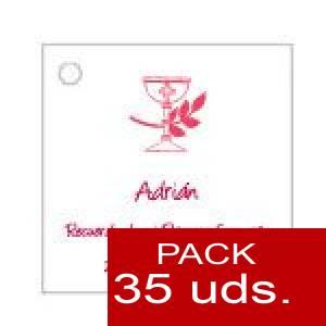 Imagen Etiquetas personalizadas Etiqueta Modelo B17 (Paquete de 35 etiquetas 4x4)