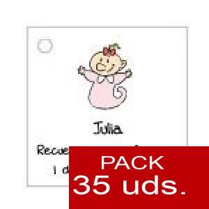 Imagen Etiquetas personalizadas Etiqueta Modelo B22 (Paquete de 35 etiquetas 4x4)
