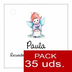 Etiquetas personalizadas - Etiqueta Modelo C06 (Paquete de 35 etiquetas 4x4)
