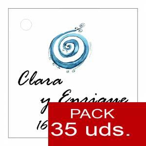 Etiquetas personalizadas - Etiqueta Modelo C08 (Paquete de 35 etiquetas 4x4)