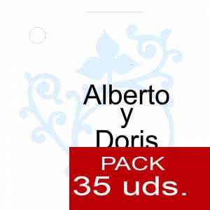 Etiquetas personalizadas - Etiqueta Modelo C14 (Paquete de 35 etiquetas 4x4)
