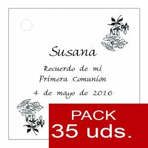 Etiquetas personalizadas - Etiqueta Modelo C19 (Paquete de 35 etiquetas 4x4)