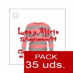 Imagen Etiquetas personalizadas Etiqueta Modelo D16 (Paquete de 35 etiquetas 4x4)