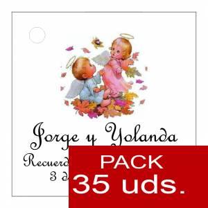 Etiquetas personalizadas - Etiqueta Modelo D24 (Paquete de 35 etiquetas 4x4)