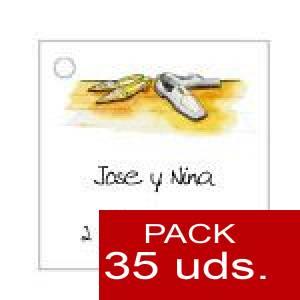 Imagen Etiquetas personalizadas Etiqueta Modelo E05 (Paquete de 35 etiquetas 4x4)
