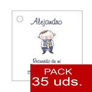 Imagen Etiquetas personalizadas Etiqueta Modelo E17 (Paquete de 35 etiquetas 4x4)