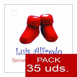 Etiquetas personalizadas - Etiqueta Modelo F13 (Paquete de 35 etiquetas 4x4)
