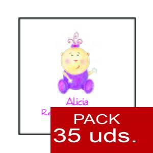 Imagen Etiquetas personalizadas Etiqueta Modelo F15 (Paquete de 35 etiquetas 4x4)