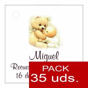 Etiquetas personalizadas - Etiqueta Modelo F22 (Paquete de 35 etiquetas 4x4)