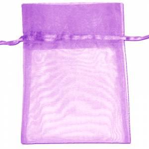 Tamaño 22x32 cms. - Bolsa de organza Lila 22x32 capacidad 21x30 cms.