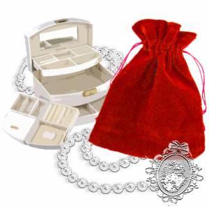 Bolsa de Antelina 11x15 - Bolsa de Antelina Roja 11x15 capacidad 11x13 cms